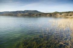 Lago banyoles Fotografía de archivo libre de regalías