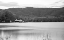 Lago Banyoles Fotografia de Stock Royalty Free