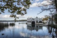 Lago Banyoles Fotografia de Stock