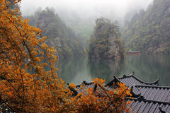 Lago Baofen, China imagens de stock royalty free