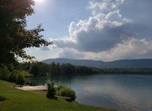Lago Barbora imagem de stock royalty free