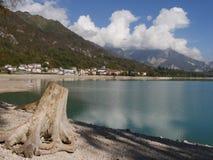 Lago Barcis Fotografía de archivo libre de regalías