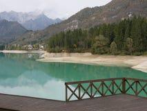 Lago Barcis Imágenes de archivo libres de regalías