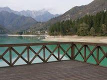 Lago Barcis Imagen de archivo