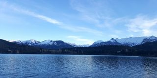 Lago Bariloche Imagem de Stock Royalty Free