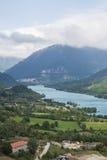 Lago Barrea Fotografia de Stock