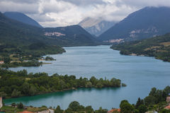 Lago Barrea Foto de Stock Royalty Free
