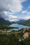Lago Barrea Imagem de Stock Royalty Free