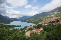 Lago Barrea Fotografie Stock