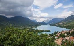 Lago Barrea Fotografía de archivo libre de regalías