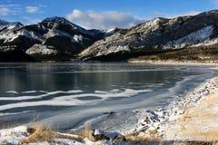 Lago barrier immagini stock libere da diritti