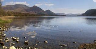 Lago Bassenthwaite Fotografia de Stock Royalty Free