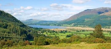 Lago Bassenthwaite, Cumbria, Inglaterra Fotografía de archivo libre de regalías