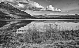 Lago Bassenthwaite, Cumbria, Regno Unito Fotografia Stock Libera da Diritti
