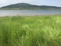 Lago Batak cerca de Pazadjik en Bulgaria Imágenes de archivo libres de regalías