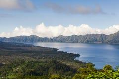 Lago Batur Kintamani Foto de archivo libre de regalías