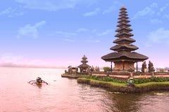 Lago Batur imagens de stock