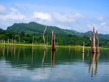 Lago Bayano Panama photographie stock libre de droits