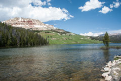 Lago Beartooth, Wyoming, U.S.A. Immagini Stock