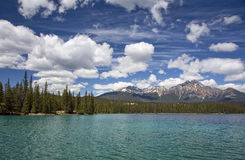 Lago Beauvert Fotografia Stock Libera da Diritti