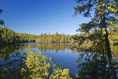 Lago bell en luz de la mañana fotografía de archivo libre de regalías