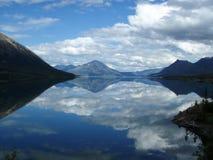 Lago Bennett 2 Foto de archivo libre de regalías
