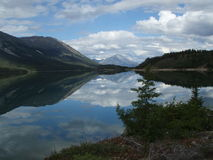 Lago Bennett Imagenes de archivo