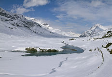 Lago Bianco Royalty Free Stock Photography