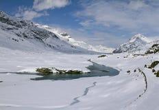 Lago Bianco royalty-vrije stock fotografie