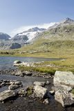 Lago Bianco, Engadin, Switzerland. Lago Bianco in Engadin, Switzerland Royalty Free Stock Photo