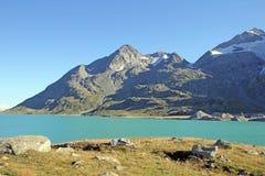 Lago bianco svizzero Immagine Stock Libera da Diritti