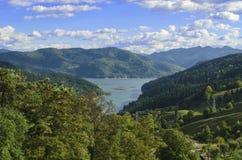 Lago Bicaz Fotografie Stock