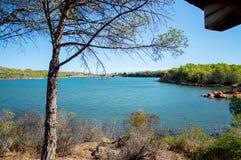 Lago Bidderosa Foto de Stock