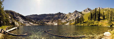 Lago big Bear Imágenes de archivo libres de regalías