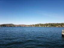 Lago big Bear Imagens de Stock