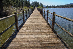 Lago big Bear Imagem de Stock Royalty Free