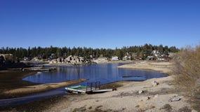 Lago big Bear Imagem de Stock Royalty Free
