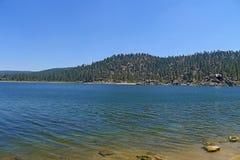 Lago big Bear Imagen de archivo libre de regalías