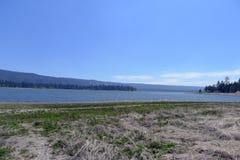 Lago big Bear Fotografia Stock Libera da Diritti