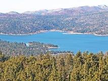 Lago big Bear en caída Fotos de archivo libres de regalías