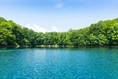 Lago Biograd, Montenegro foto de archivo libre de regalías