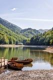 Lago Biogradsko nel Montenegro Immagini Stock Libere da Diritti