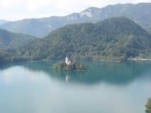 Lago Blad fotografia stock libera da diritti