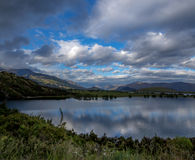 Lago blanco cloud imagen de archivo libre de regalías