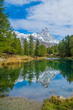 Lago Bleu (Italy) Royalty Free Stock Image
