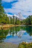 Lago Bleu (Włochy) Obraz Royalty Free