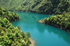 Lago blu Immagine Stock