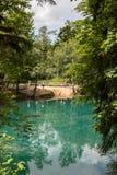 Lago blu Immagini Stock