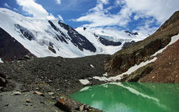 Lago blu, Aktru fotografie stock libere da diritti