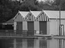 Lago boating Foto de archivo libre de regalías